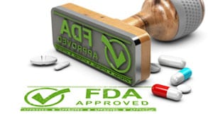 Large green FDA stamp | FDA compliance | pharmatechlabs or Pharmatech labs