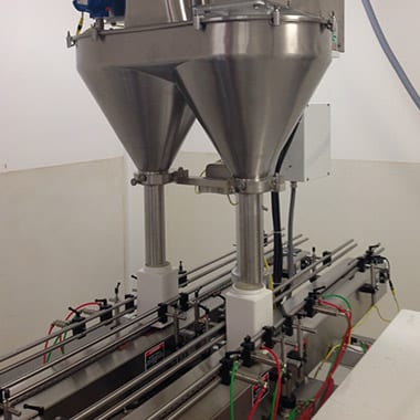 Spee-Dee and All-Fill powder filling machine | Pharmatechlabs® or Pharmatech labs®